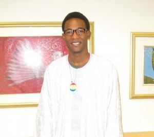 Sane Haidara, SPC Student from Timbuktu, Mali